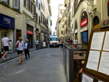 Borgo San Lorenzo, Firenze. © Grazia Galli