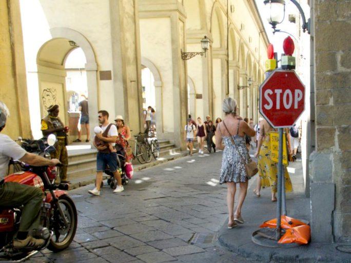 Lungarno Archibusieri, Firenze. © Grazia Galli