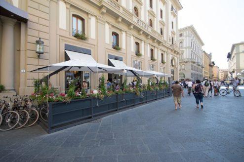 Piazza Repubblica, Firenze.