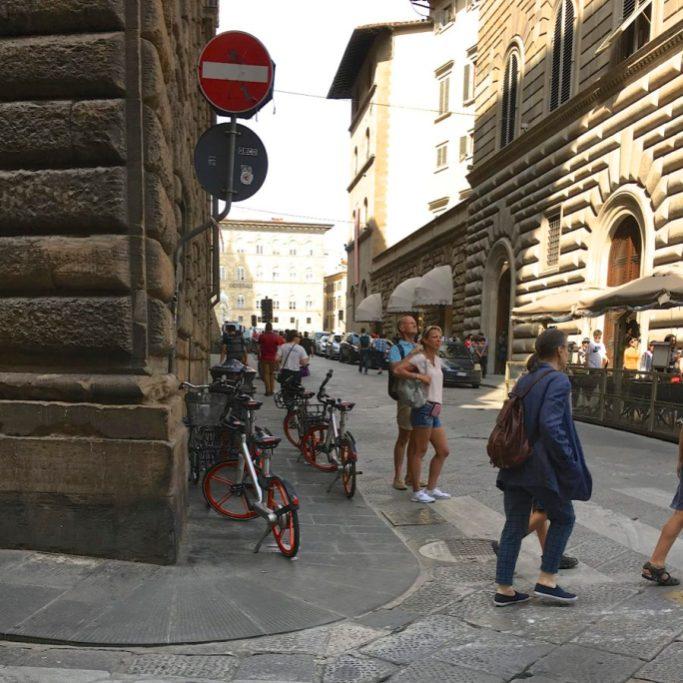 Via de' Gondi, Firenze. Foto © Grazia Galli