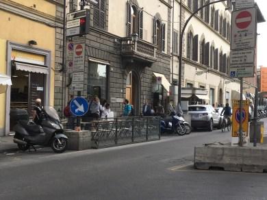 Largo Alinari, Firenze. © Grazia Galli