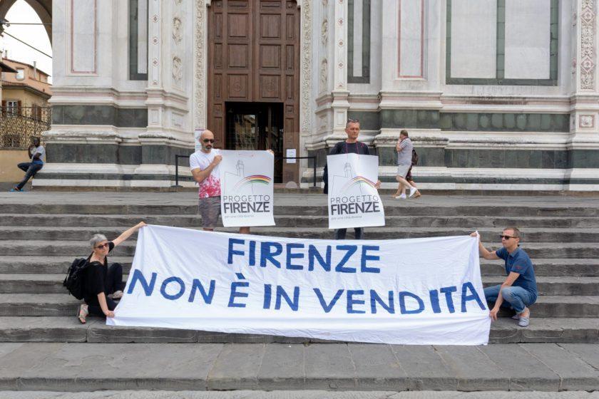Piazza Santa Croce, Firenze.© Emanuele Baciocchi