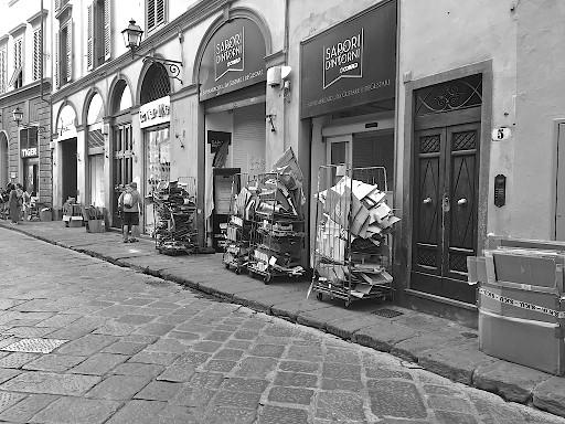 Borgo di San Lorenzo, Firenze. Foto © Grazia Galli