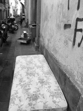 Via Palazzolo, Firenze. Foto © Grazia Galli