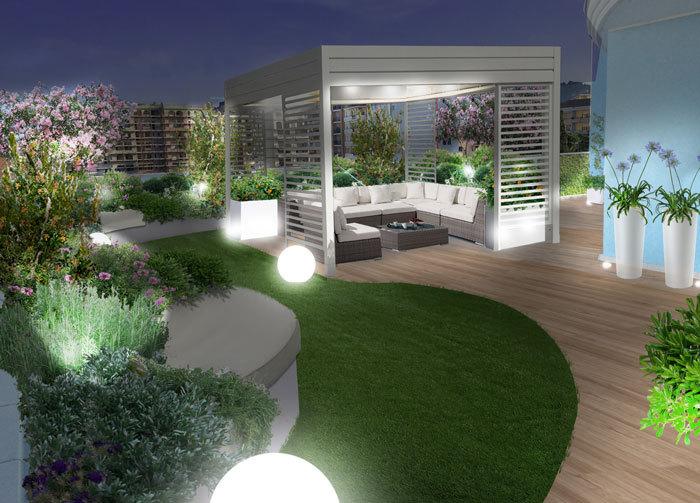 Progetti Il giardino pensile a Pescara