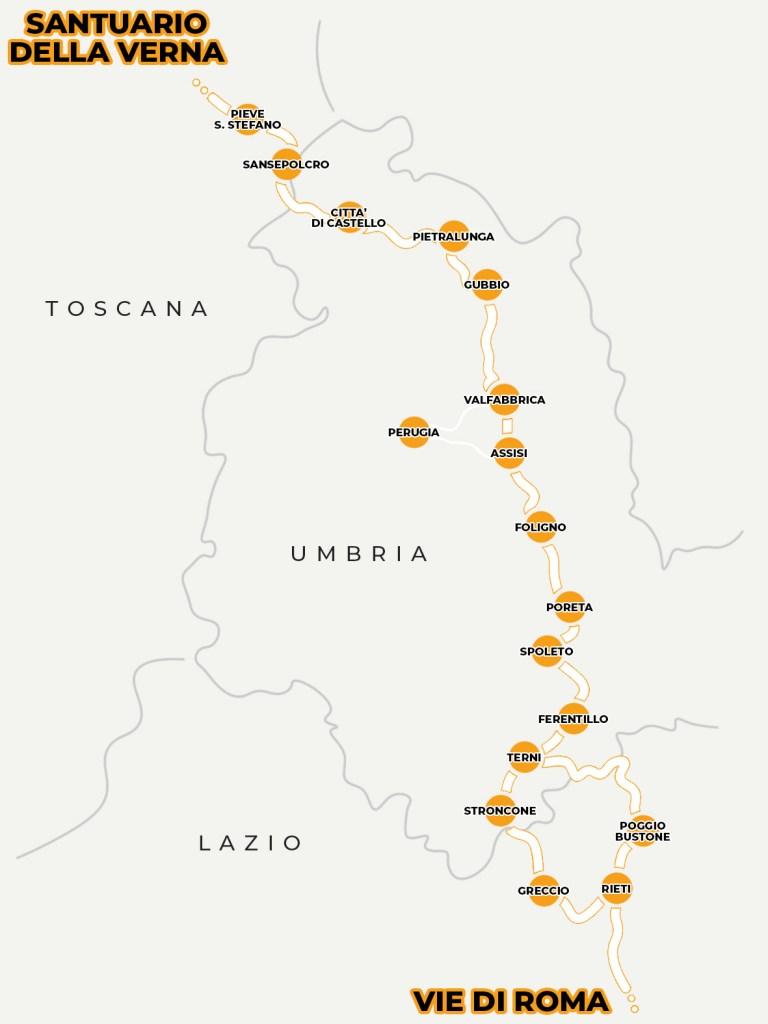 Associazione ProgettoIdea Chiusi della Verna - Via Francigena