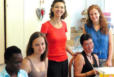 Punti di svista: volontarie a Progetto Miriam