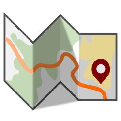 Folded Map