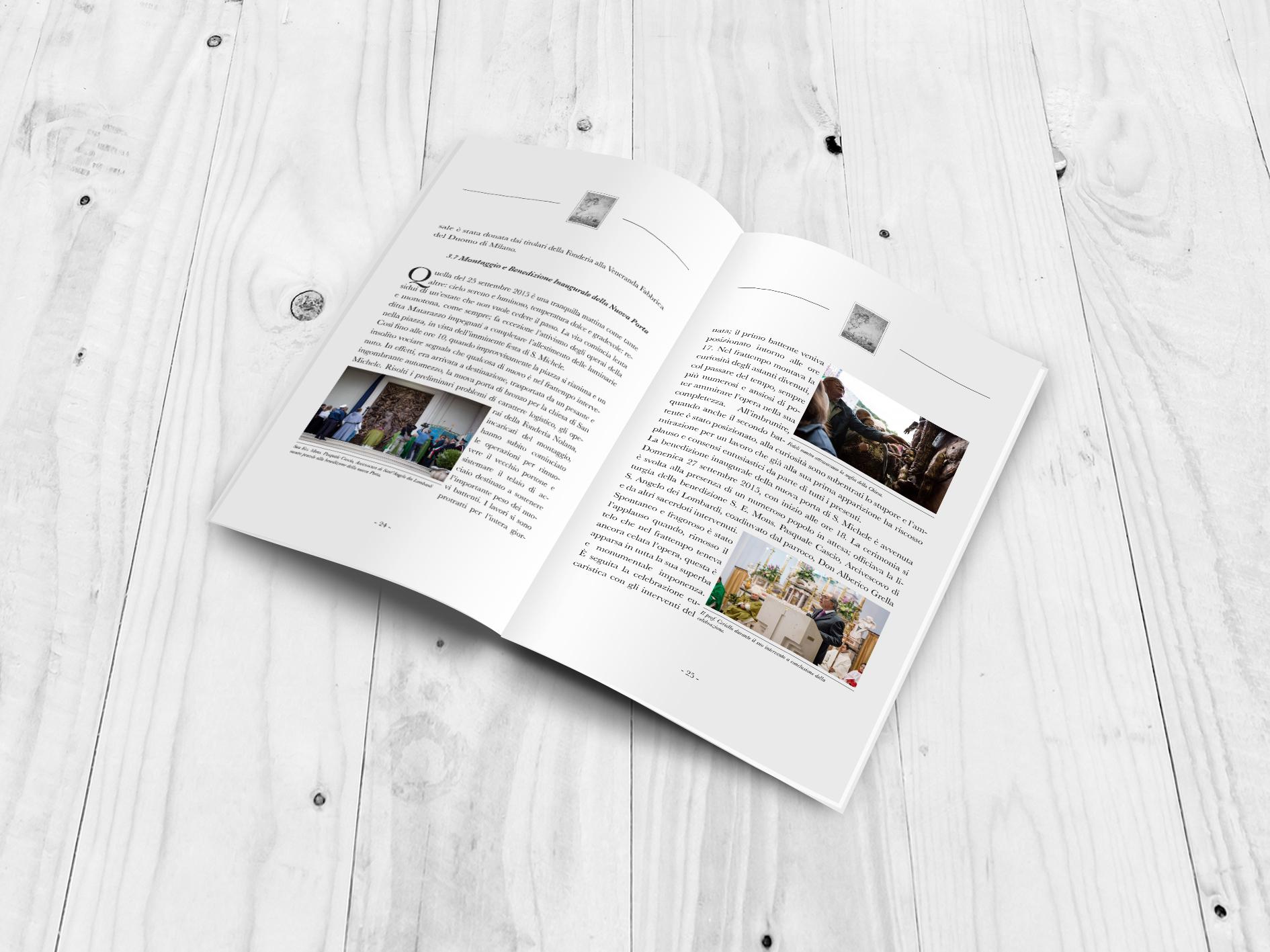 Pubblicazione: La nuova porte di bronzo dell'abbazia di San Michele A. - 02