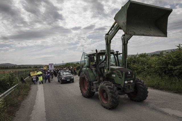 Protesta contro gli Accumulatori