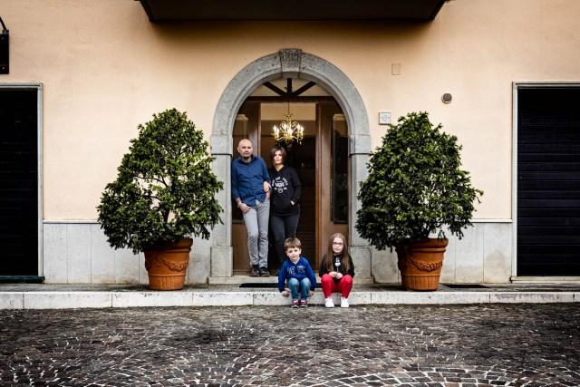Giuseppe Maiella Antonio e Safia - Day Five   Piazza Michele Aufiero - Sturno