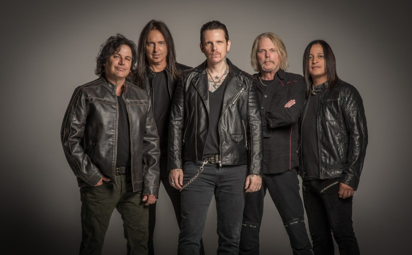 """BLACK STAR RIDERS release """"When The Night Comes In"""" lyric video"""