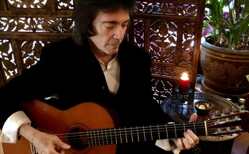 Review – Steve Hackett – Under a Mediterranean Sky – by John Wenlock-Smith