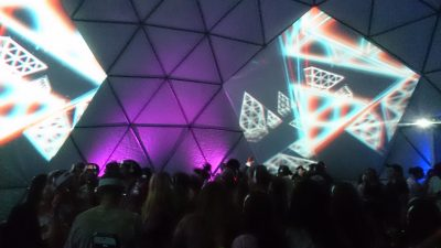3d disco dome glow festival gold coast