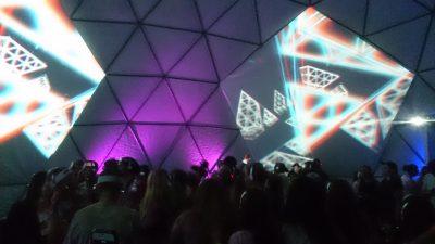 3d disco dome glow festival gold coast