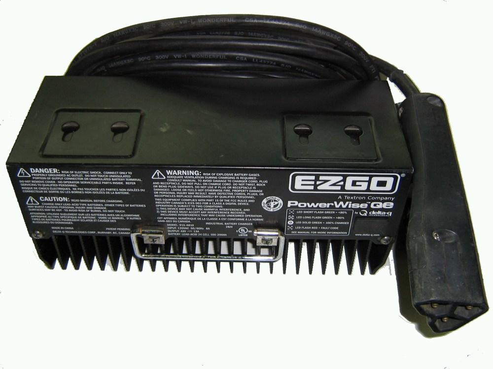 medium resolution of e z go battery charger 48v 13amp 915 4810