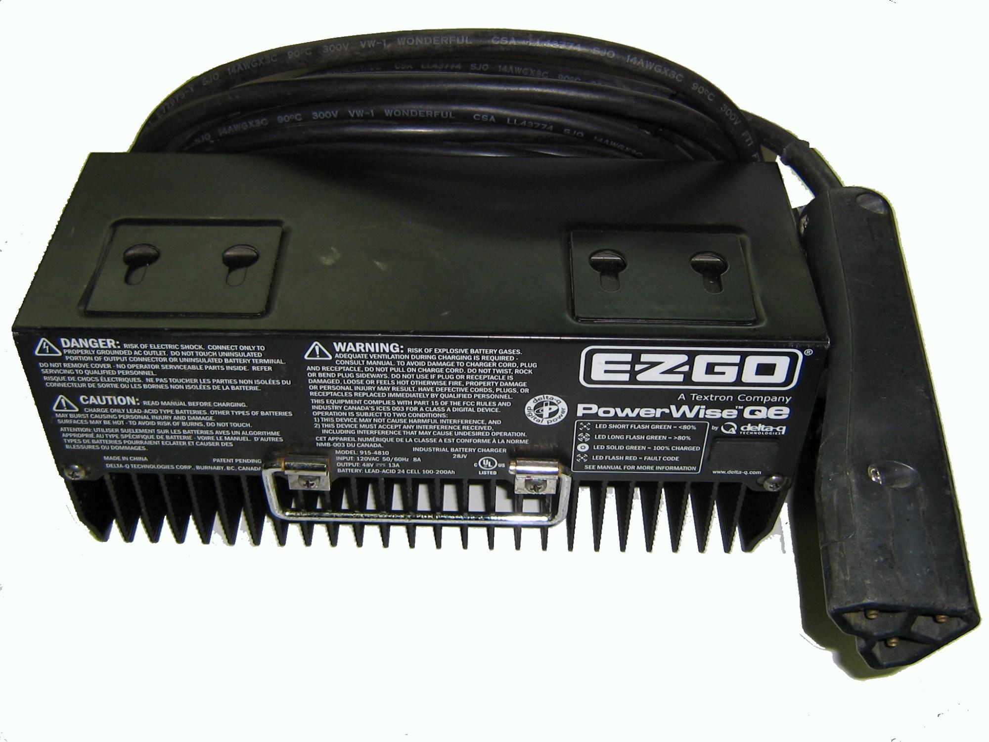 hight resolution of e z go battery charger 48v 13amp 915 4810