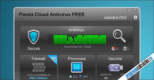 Antivirus gratuit: Panda Cloud Antivirus Free