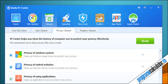 Baidu PC Cleaner - Cleaner