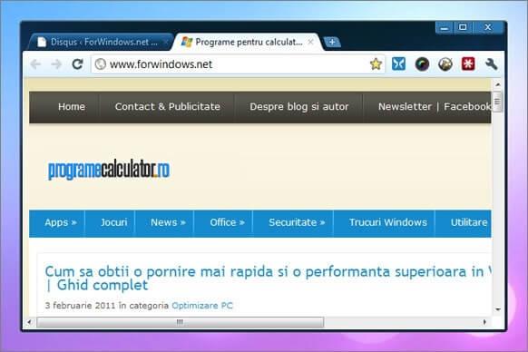 4-Honeycomb - Teme pentru Google Chrome