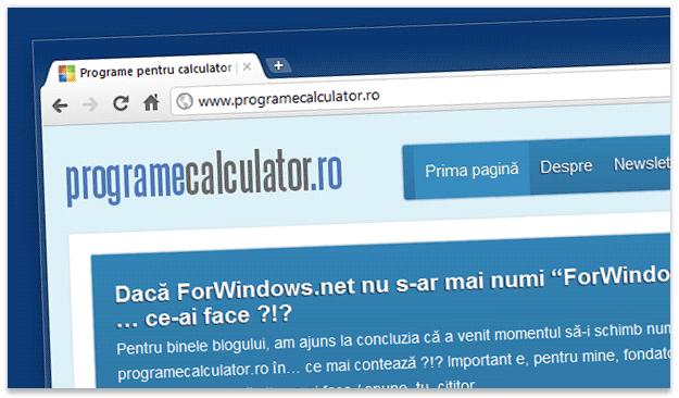 ProgrameCalculator.ro
