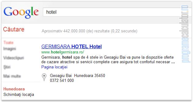locatia Google
