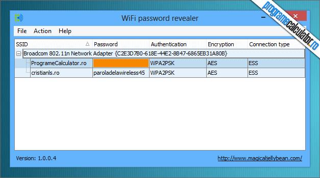 recuperare parola wireless uitata