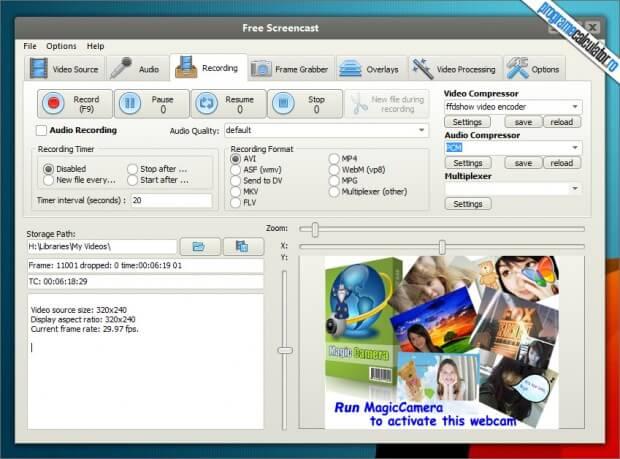 Free-Screencast: Inregistrare Desktop