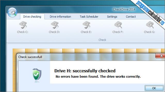 program de verificat si reparat erorile hard disk-ului