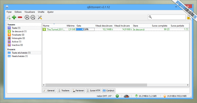 qBittorrent - program download torrente