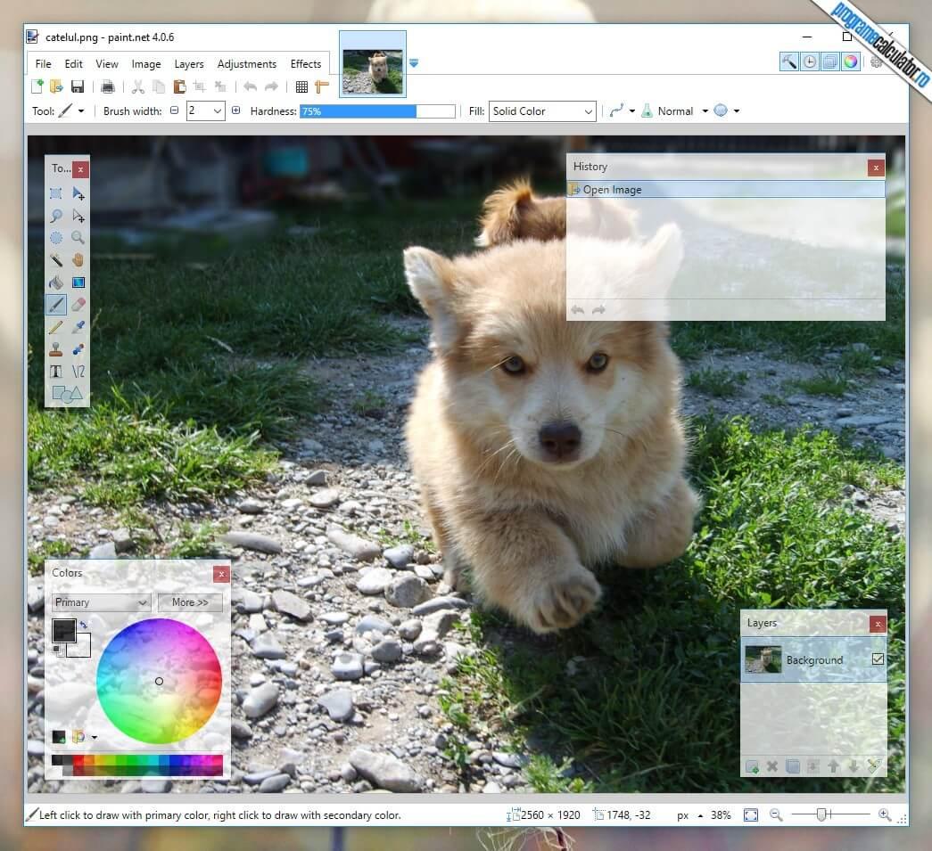 5 programe gratuite de editare foto si conversie RAW