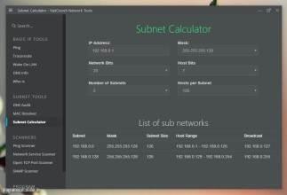 NetCrunch - Subnet Calculator
