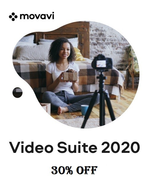 Movavi Video Suite 2020 - 30% OFF