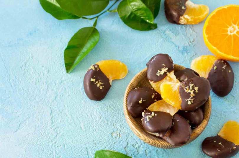 Clémentines au chocolat