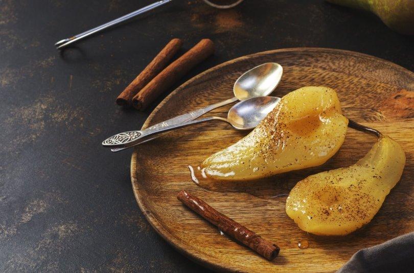 Compote de poire à la cannelle