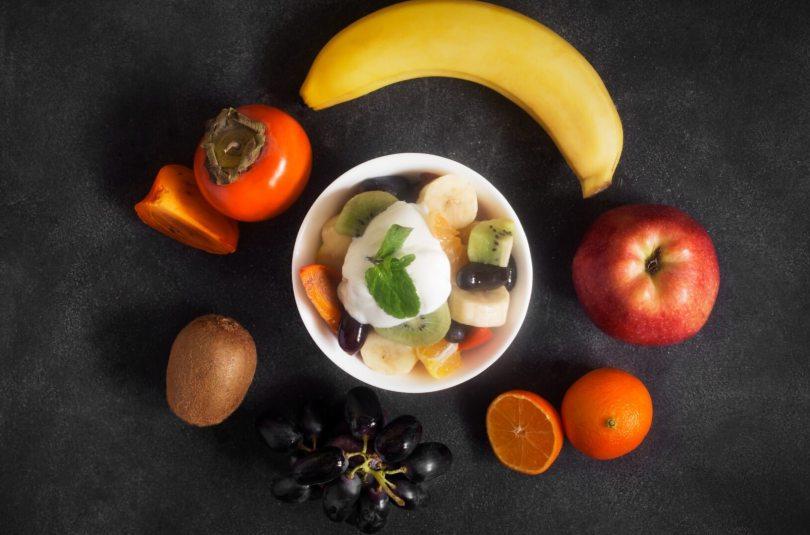 Salade de fruits au kaki