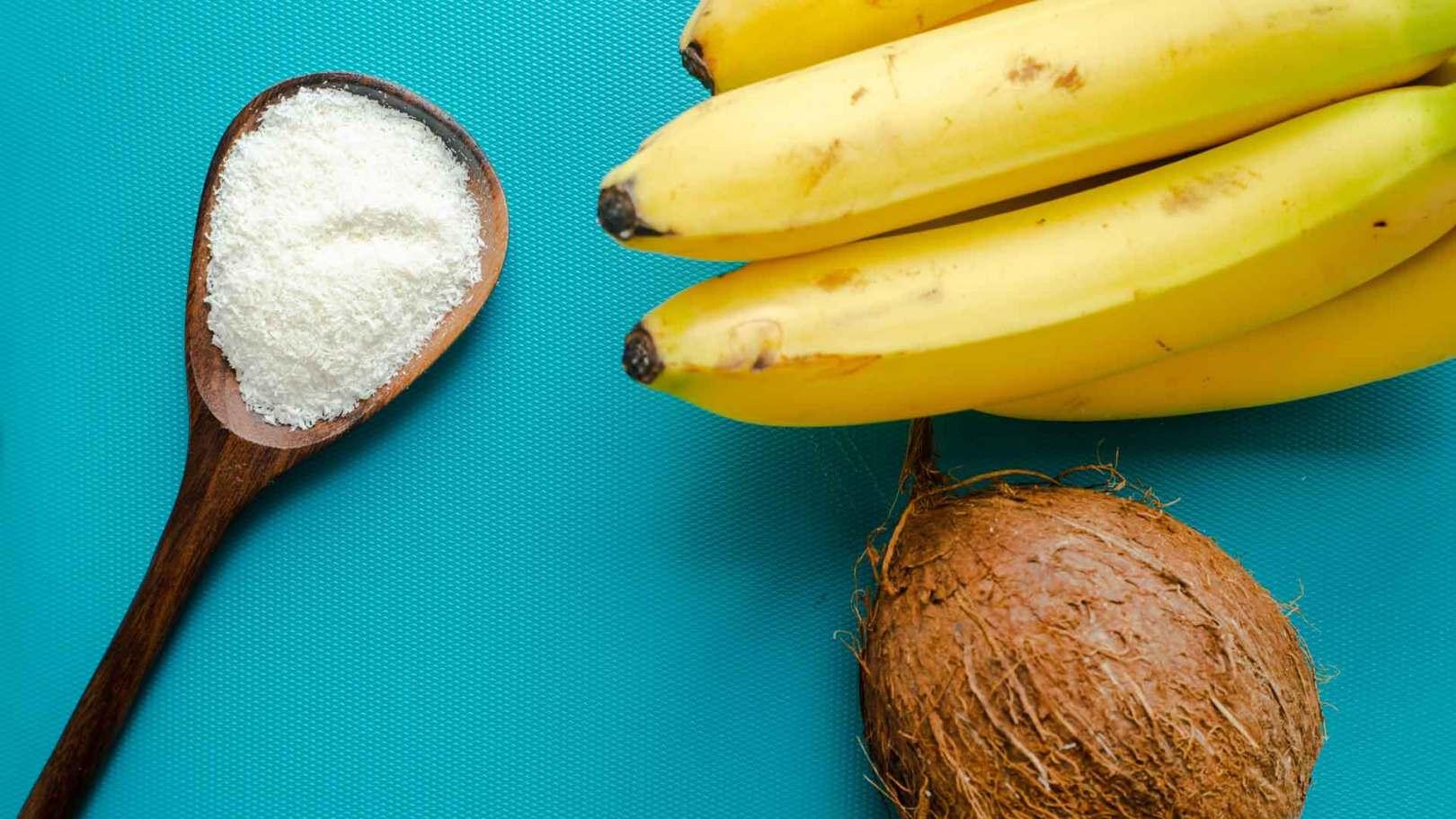 Banane au four et à la coco