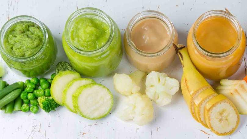 Le top des recettes de purée et de compote pour les bébés de 4 à 6 mois à proposer pendant l'été