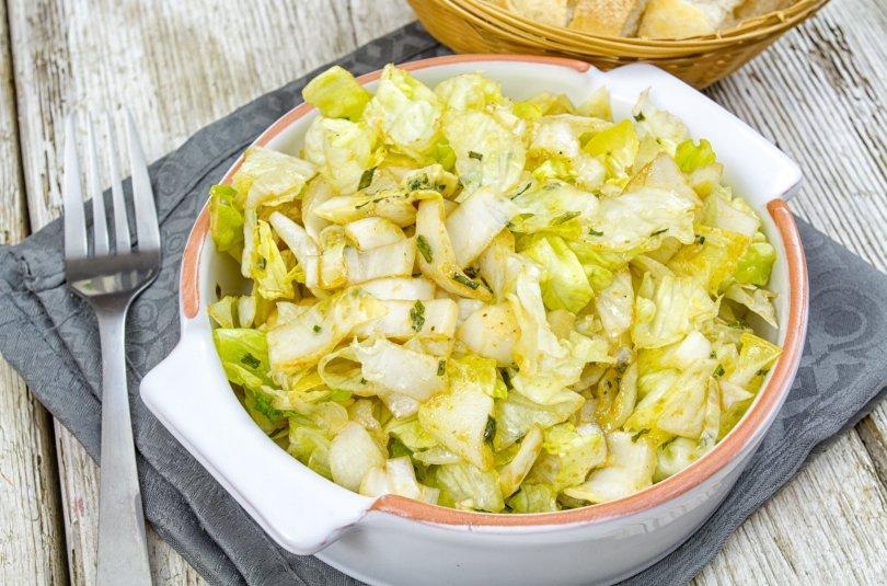 Salade d'endive et clémentines