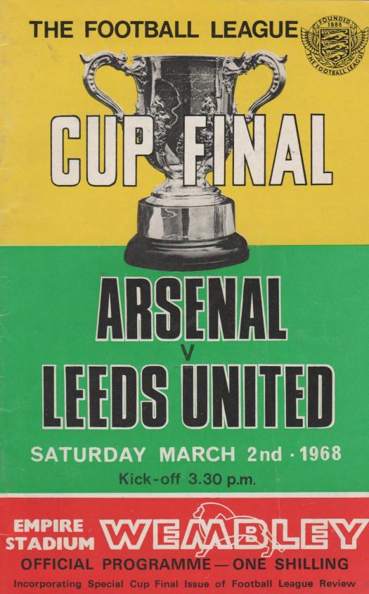 Arsenal v Leeds United 02-Mar-1968 - ProgrammeCollector.Net