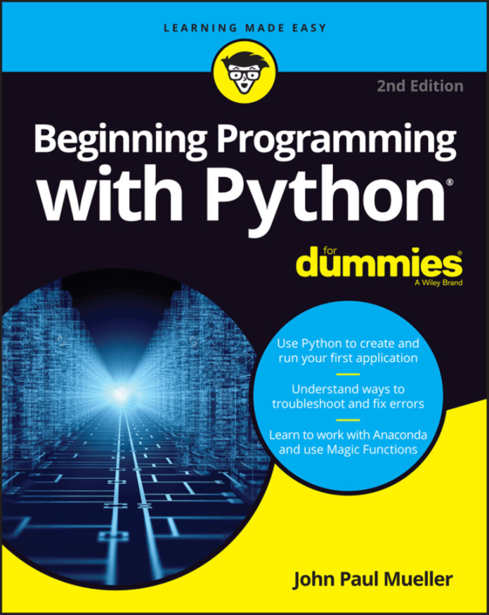 Beginning Programming With Python For Dummies 2nd Edition Pdf