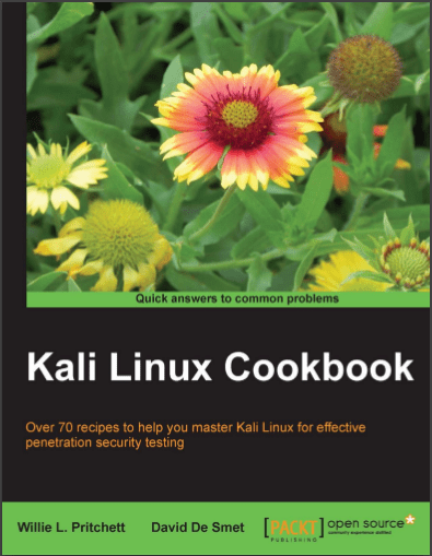 Kali Linux Cookbook Pdf Programmer Books