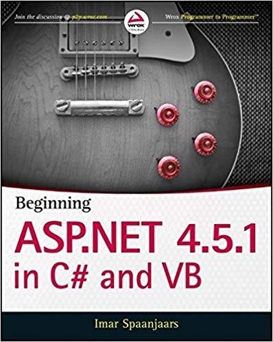 Beginning ASP.NET 4.5.1 in CSharp and VB