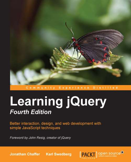 Learning jQuery 4th Edition