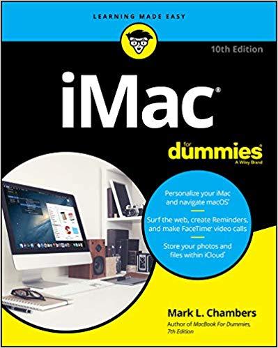 iMac For Dummies, 10th Edition