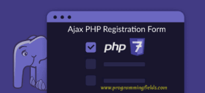 Ajax PHP Registration Form