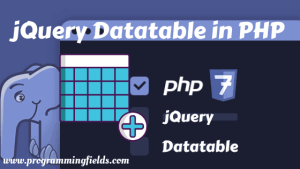 Datatable PHP