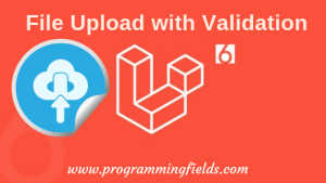 Laravel 6 File Upload