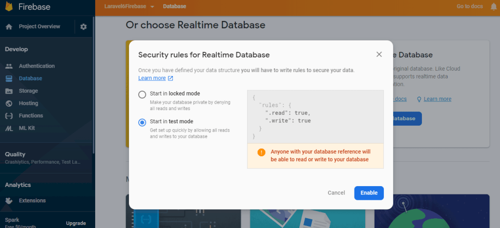 Security Rules For Firebase Realtime Database
