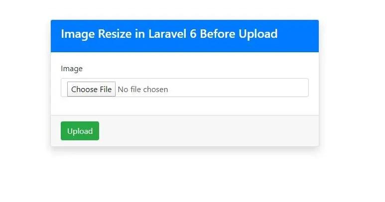 Laravel 6 Resize Image